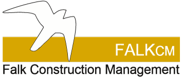 Falk Construction Managements logotyp